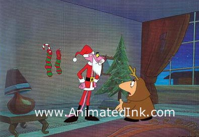 ANIMATED INK / COMIC ART COLLECTOR Pink Panther Animation Cels